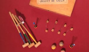 Jeu de croquet de salon